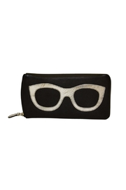 International Leather Industries Leather Eyeglass Case - Front cropped