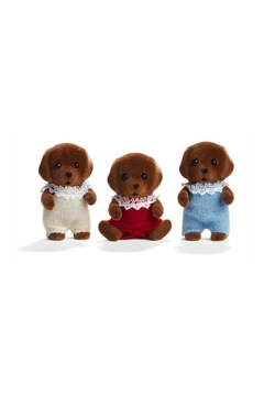 International Playthings Chocolate Lab Triplets - Product List Image