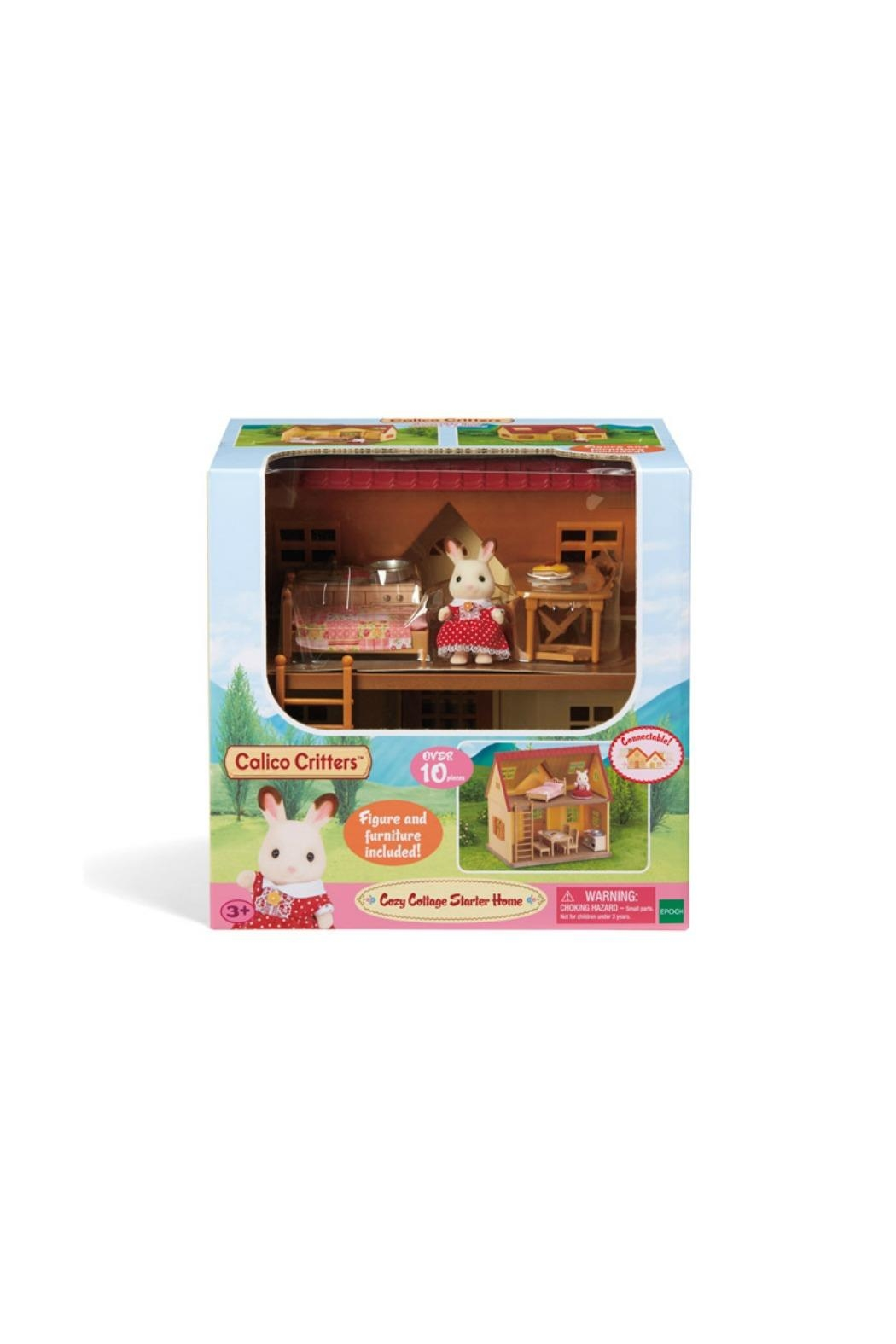 International Playthings Cottage Starter Home - Back Cropped Image