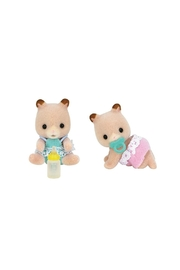 International Playthings Fluffy Hamster Twins Toy - Product Mini Image