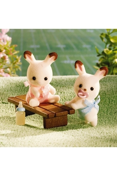 International Playthings Hopscotch Bunny Twins - Alternate List Image