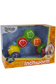 International Playthings Press'n'go Inchworm - Front full body
