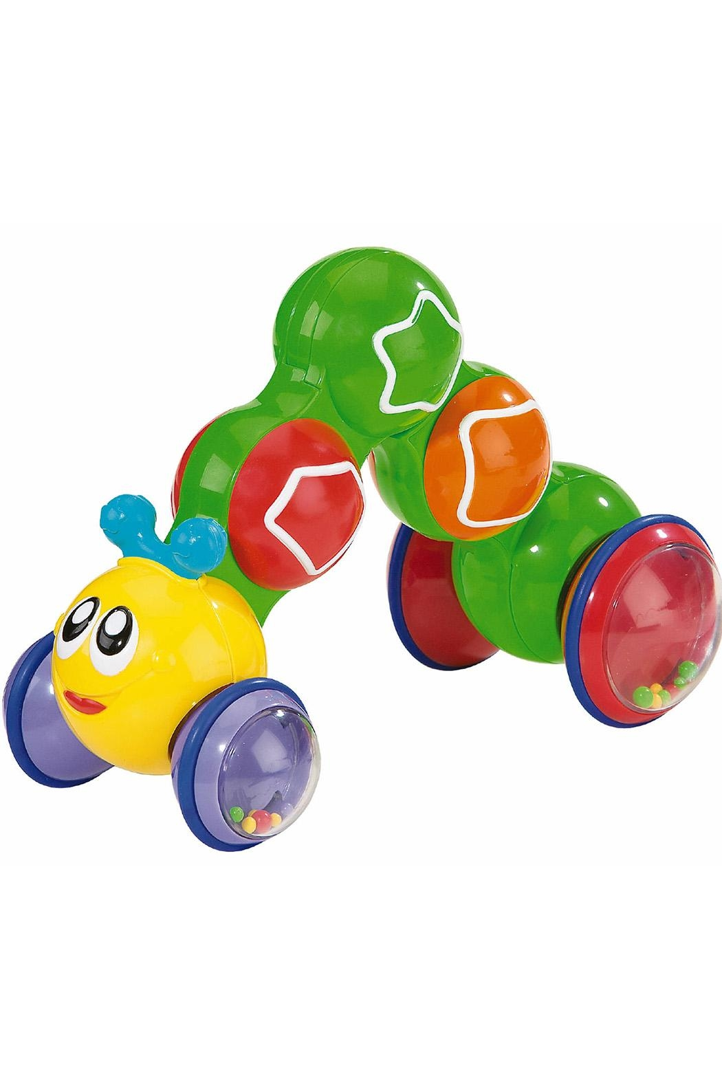International Playthings Press'n'go Inchworm - Front Cropped Image