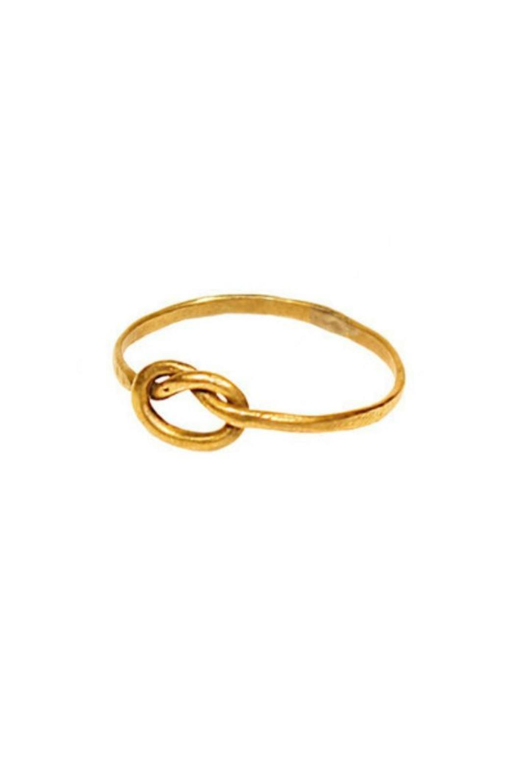 International Sanctuary Knot Ring - Front Cropped Image