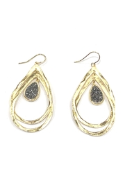 Marcia Moran Intertwined Tear-Drop Earrings - Product Mini Image