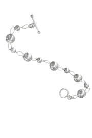 Interval Silver Bead Bracelet Available to Buy (www.RMNOnline.net) #RMNOnline