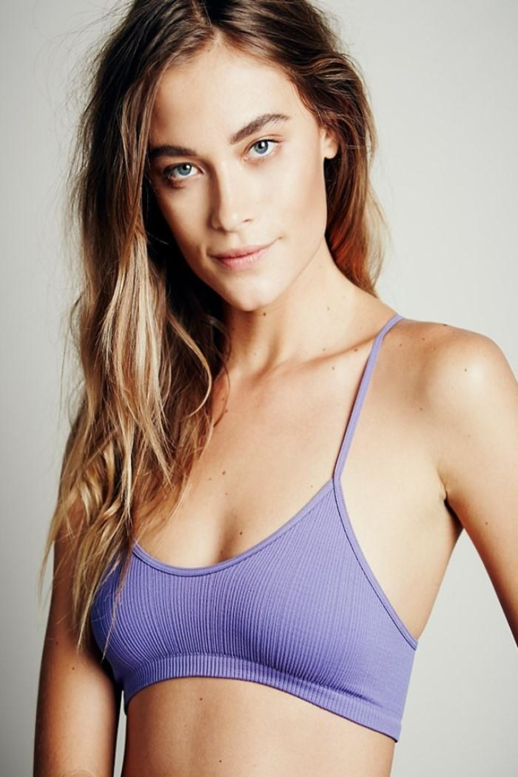 Intimately Free People Baby Racerback Bralette - Front Full Image