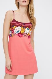 Intimately Free People Bodycon Border Chemise - Product Mini Image