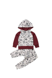 Elsa Bella Baby Into The Wild Hooded Two-Piece Outfit - Product Mini Image