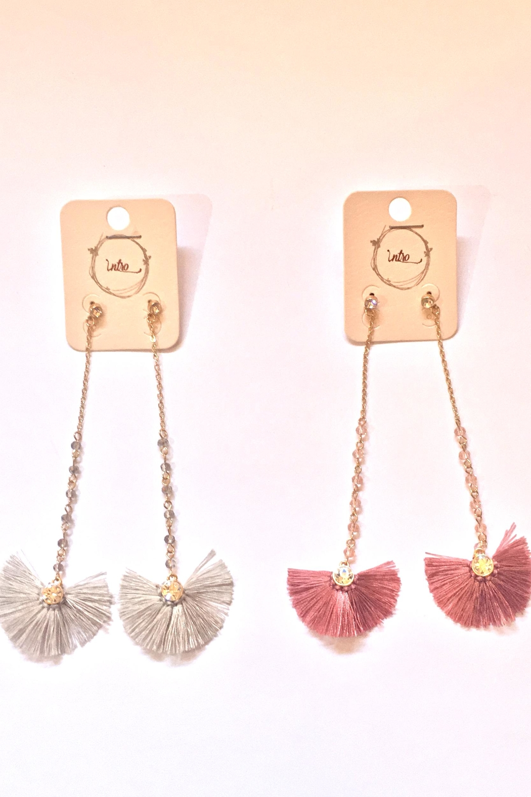 Intro Fan Earrings - Main Image