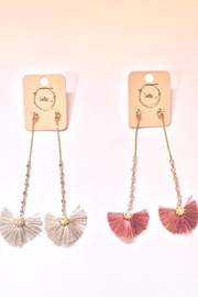 Intro Fan Earrings - Side cropped