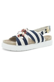 INUIKII Sandal Stripes Blue - Product Mini Image