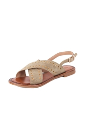 Inuovo Olive Suede Sandals - Product Mini Image