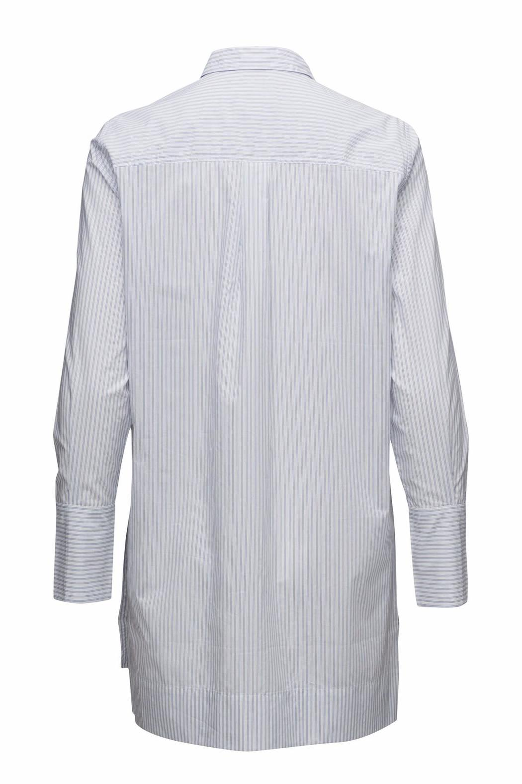 Inwear Blue Striped Shirt - Front Full Image