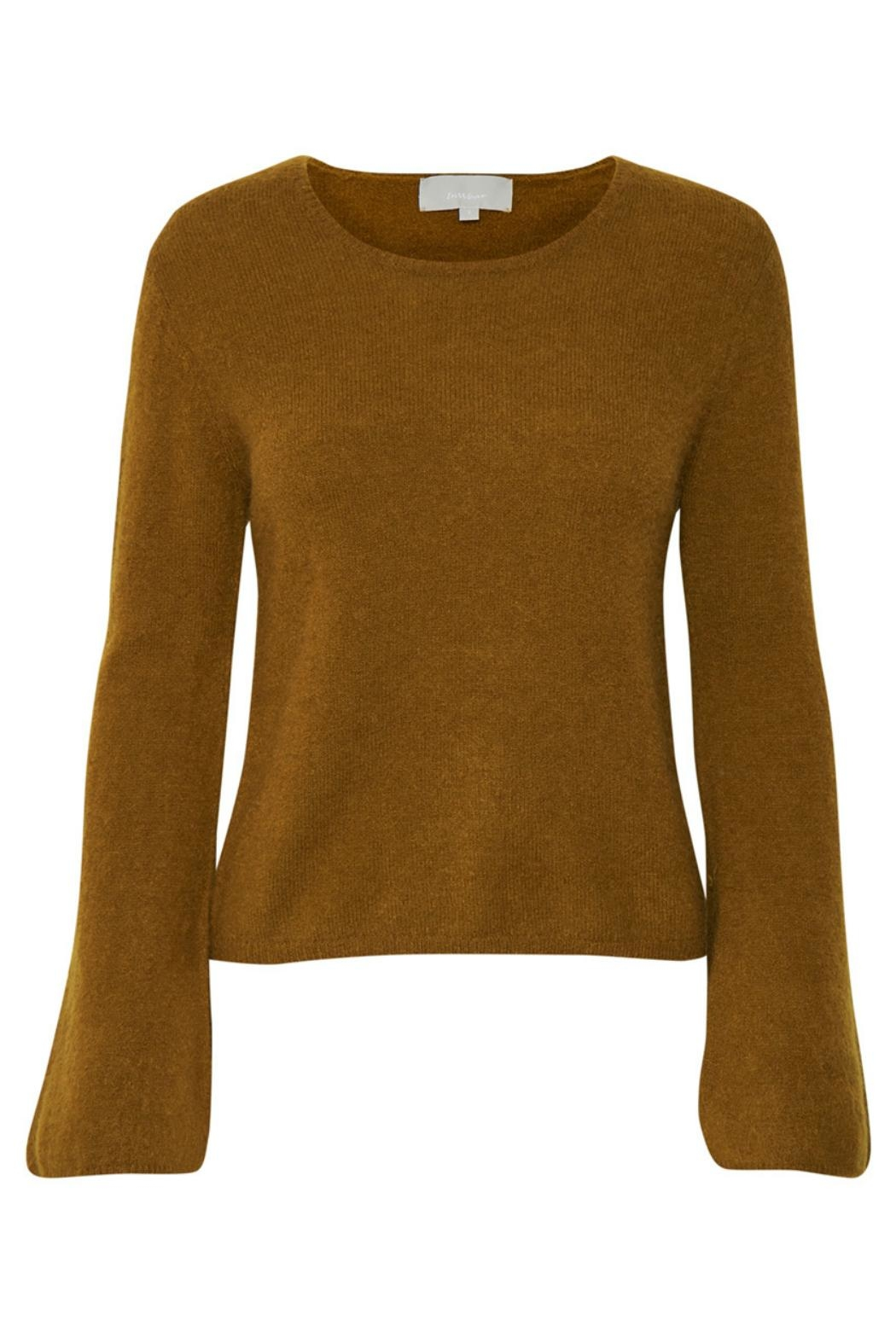 Inwear Flare Sleeve Sweater - Front Cropped Image