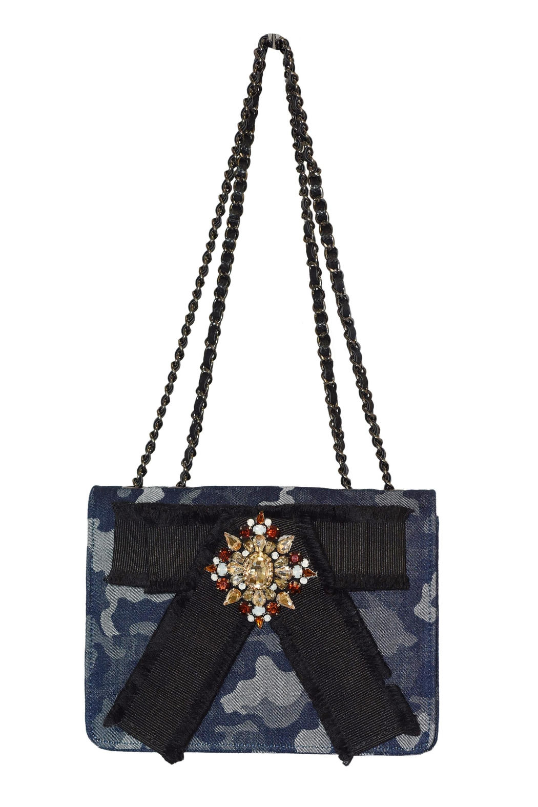 INZI Blue Camo Crossbody - Main Image
