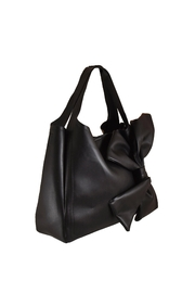INZI Bow Shoulder Bag - Front full body