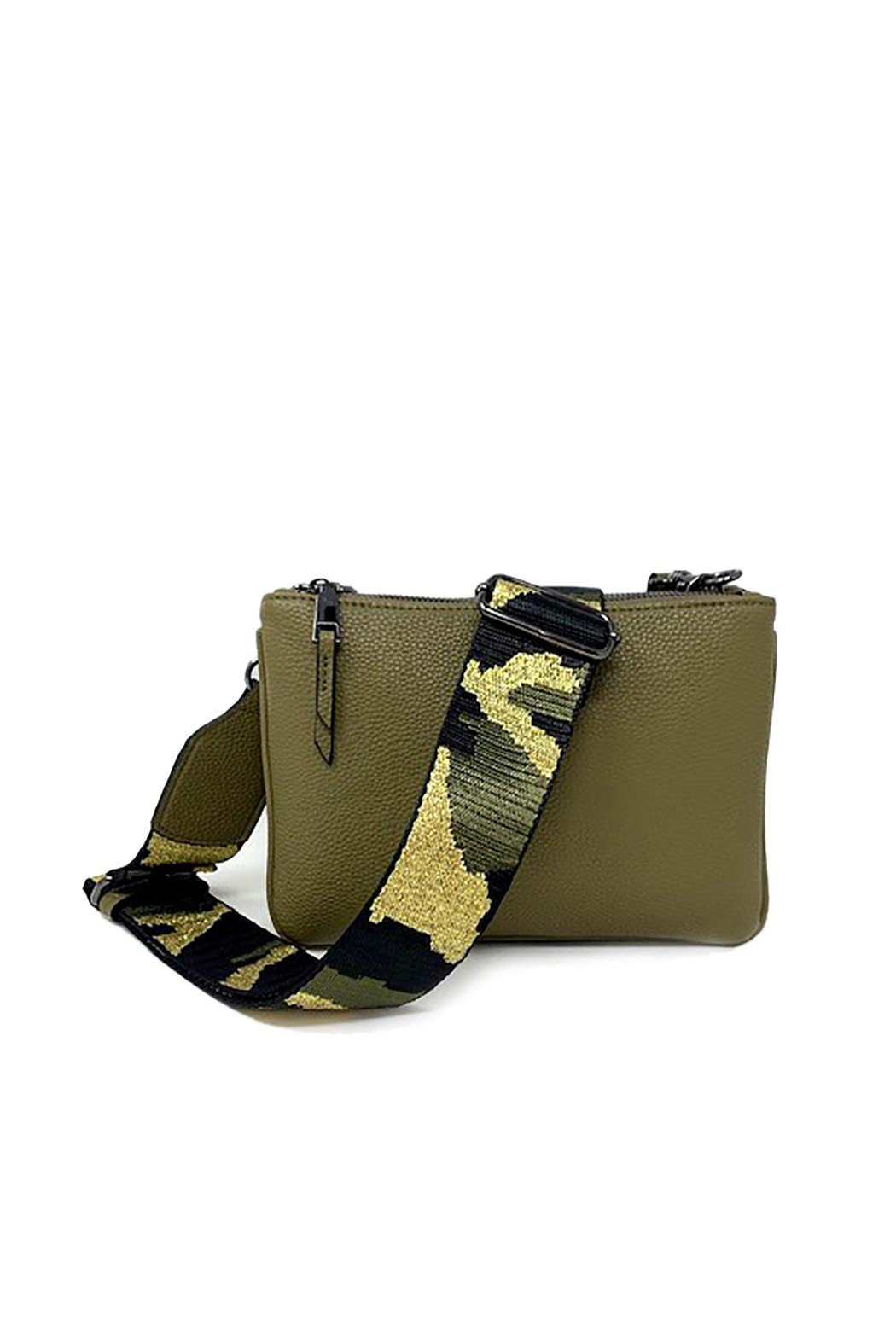 INZI Camo-Strap Crossbody - Front Cropped Image