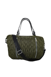INZI Chevron Quilted Shoulder Bag - Product Mini Image