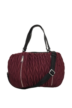 Shoptiques Product: Chevron Quilted Shoulder Bag