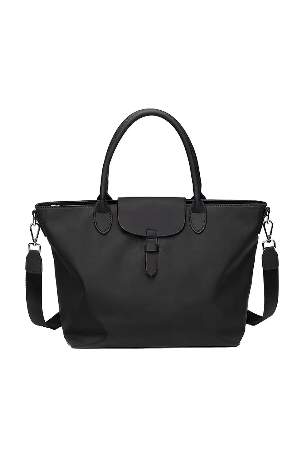 INZI Classic Nylon Tote - Front Cropped Image