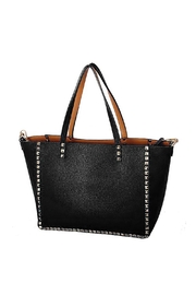 INZI Reversible Studded Tote - Front cropped