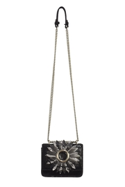 INZI Floral Cutouts Crossbody - Front cropped