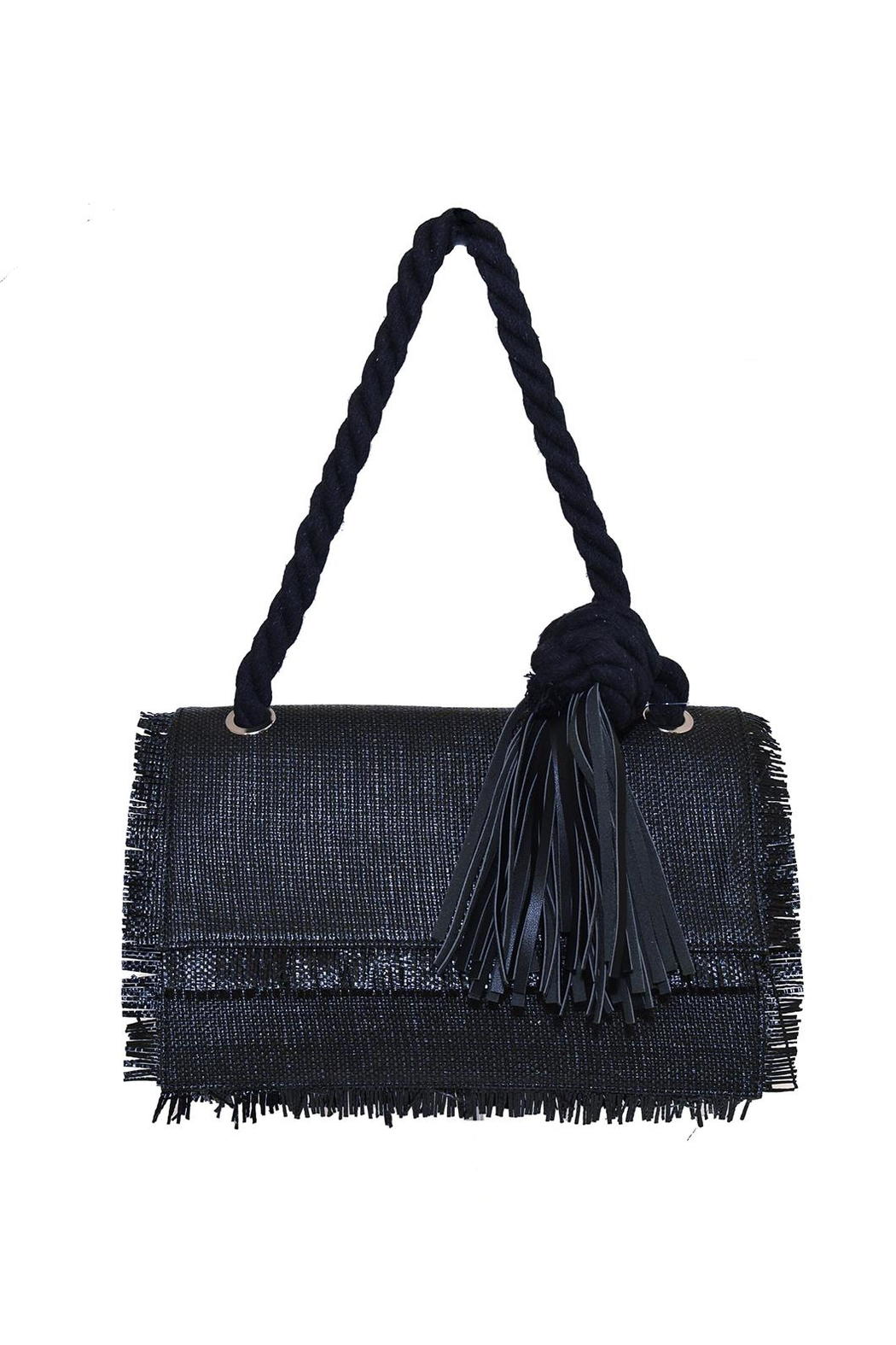INZI Fringe Shoulder Bag - Main Image