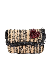 INZI Fringe Woven Crossbody - Product Mini Image