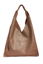 INZI Metallic Triangle Bag - Front cropped