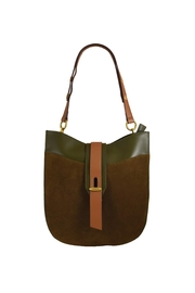 INZI Multi-Tone Shoulder Bag - Front cropped