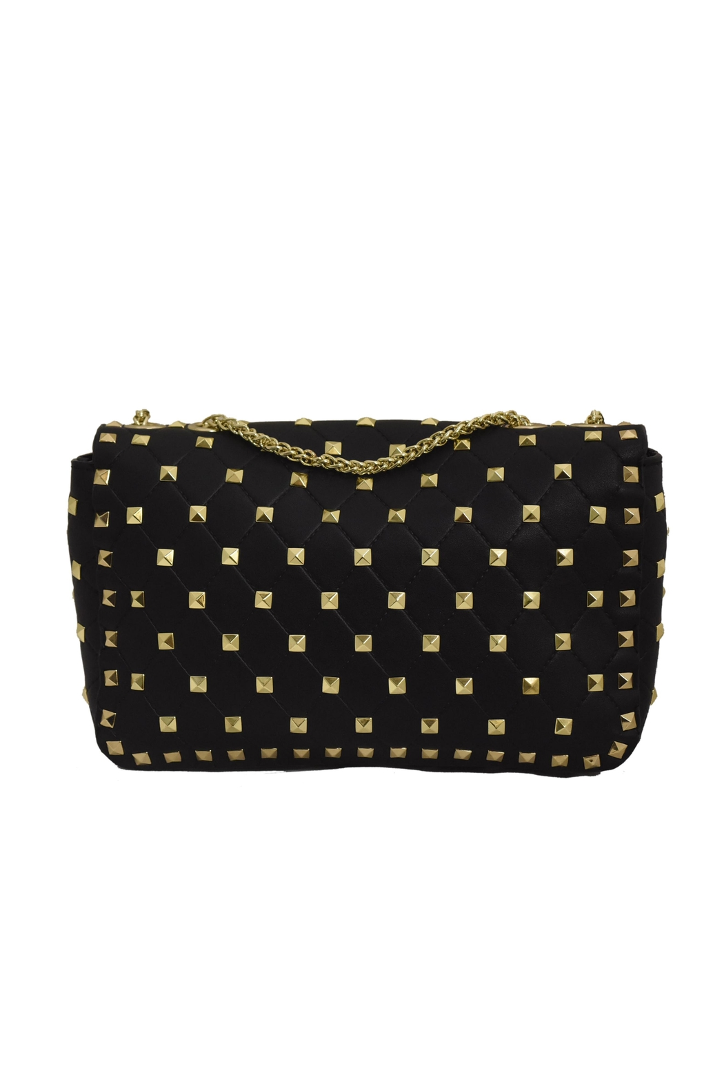 INZI Quilted Stud Crossbody - Side Cropped Image