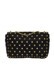 INZI Quilted Stud Crossbody - Side cropped