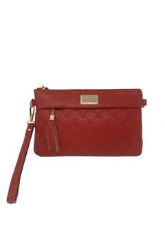 Shoptiques Product: Rose-Embossed Crossbody