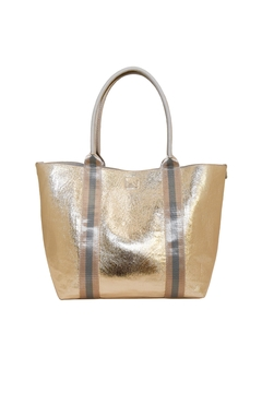 INZI Shimmering Gold Tote - Product List Image
