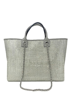 INZI Shimmering Tote - Alternate List Image