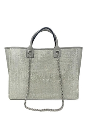 INZI Shimmering Tote - Front cropped