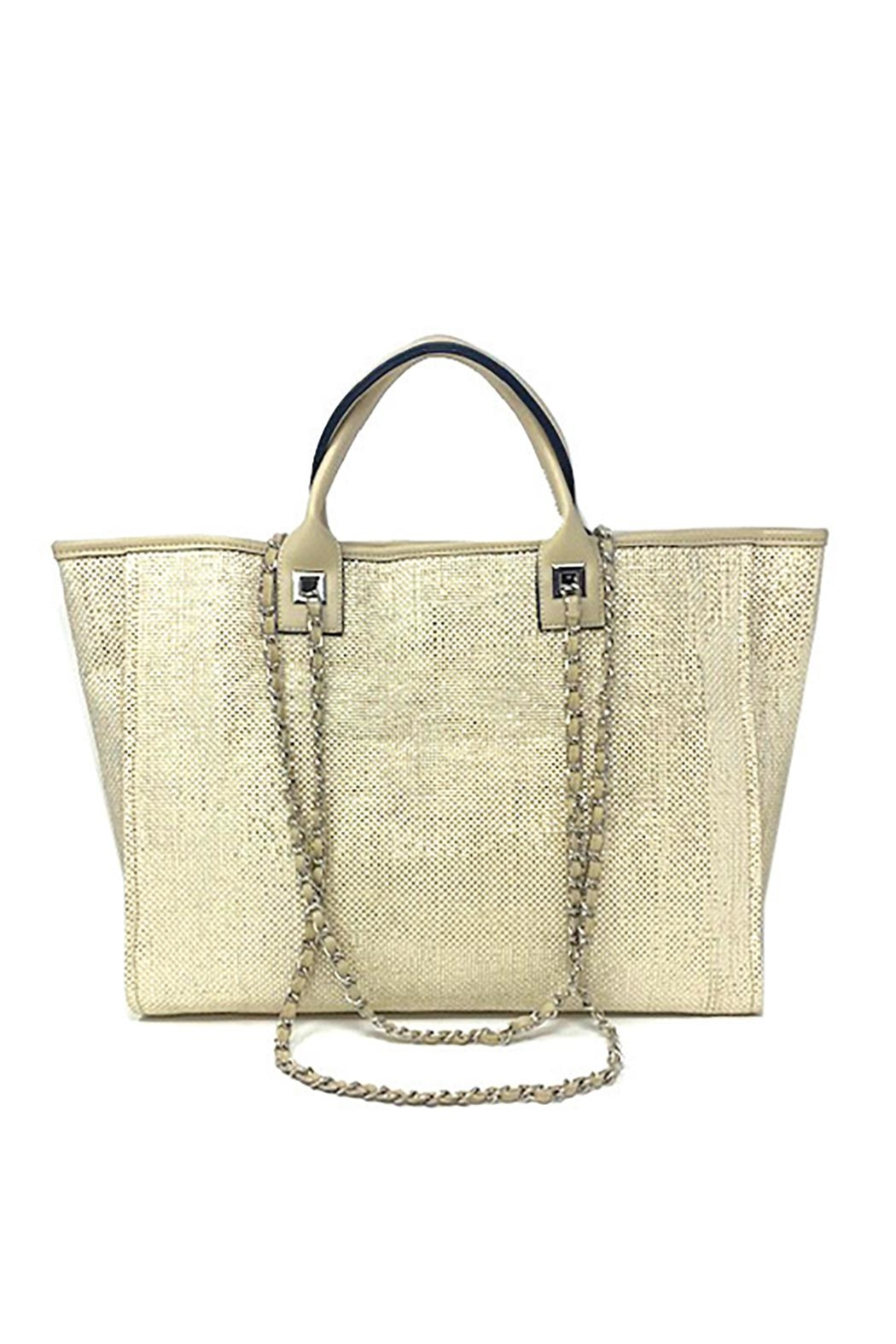 INZI Shimmering Tote - Front Cropped Image