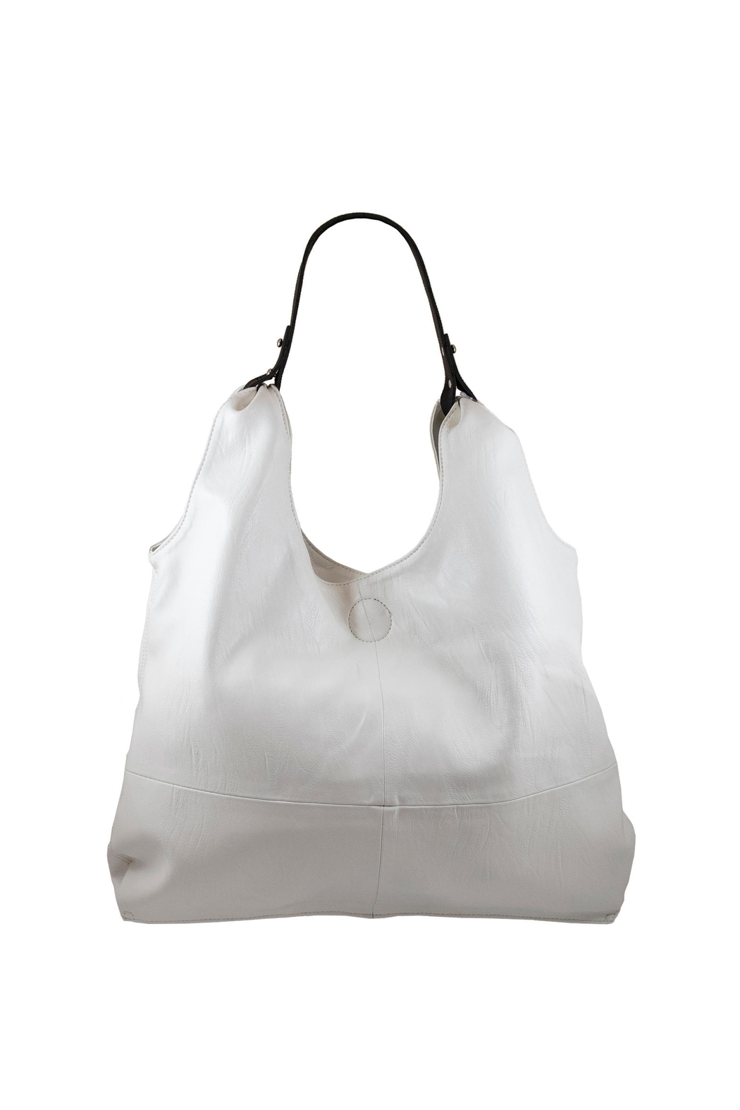 INZI Slouchy Shoulder Bag - Front Cropped Image