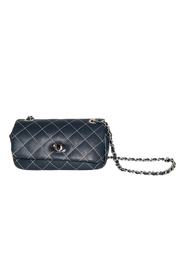 INZI Small Quilted Crossbody - Front full body