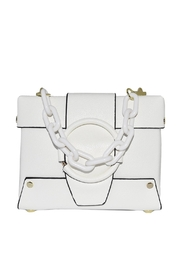 INZI Small Structured Crossbody - Back cropped