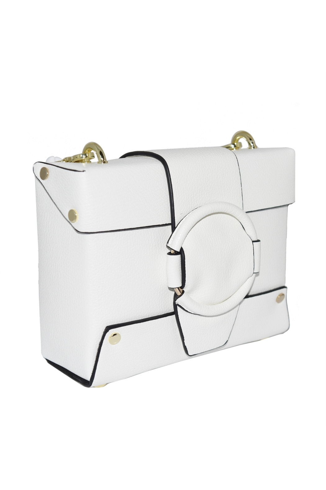 INZI Small Structured Crossbody - Front Full Image