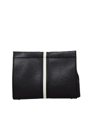 INZI Snakes N Roses Clutch - Back cropped
