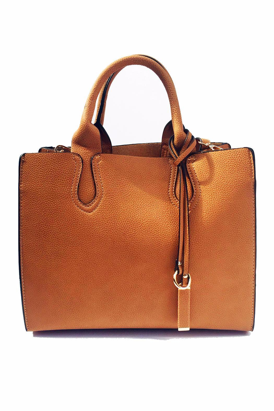INZI Satchel Bag - Front Cropped Image