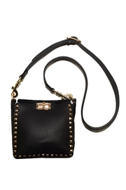 INZI Studded Crossbody - Front cropped