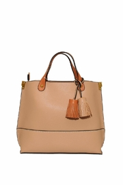 INZI Tasseled Tote - Product Mini Image