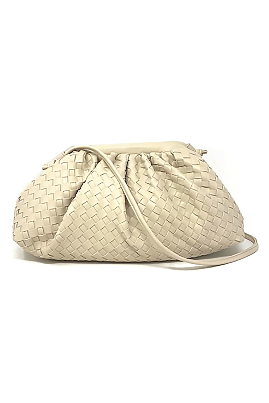 INZI Woven Crossbody Bag - Front Cropped Image