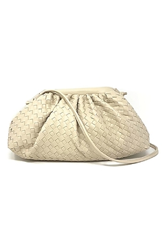Shoptiques Product: Woven Crossbody Bag
