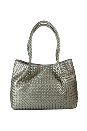 INZI Woven Shoulder Bag - Front cropped