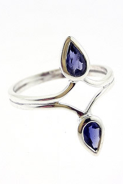 Crystal Earth Iolite Ring Size 7 - Product List Image